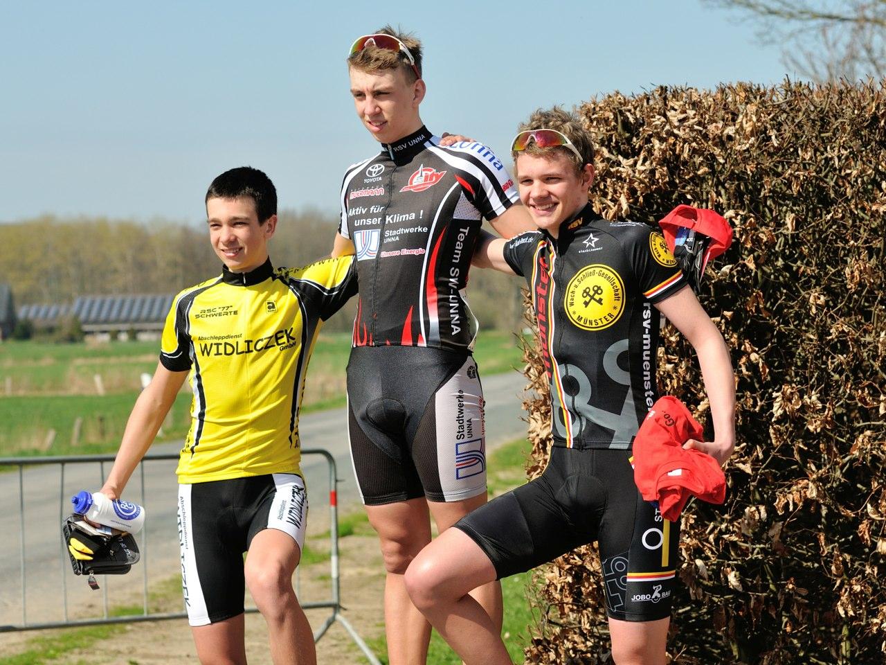 2. Platz für Robin Bölk in Melle-Gesmold (21.04.13)