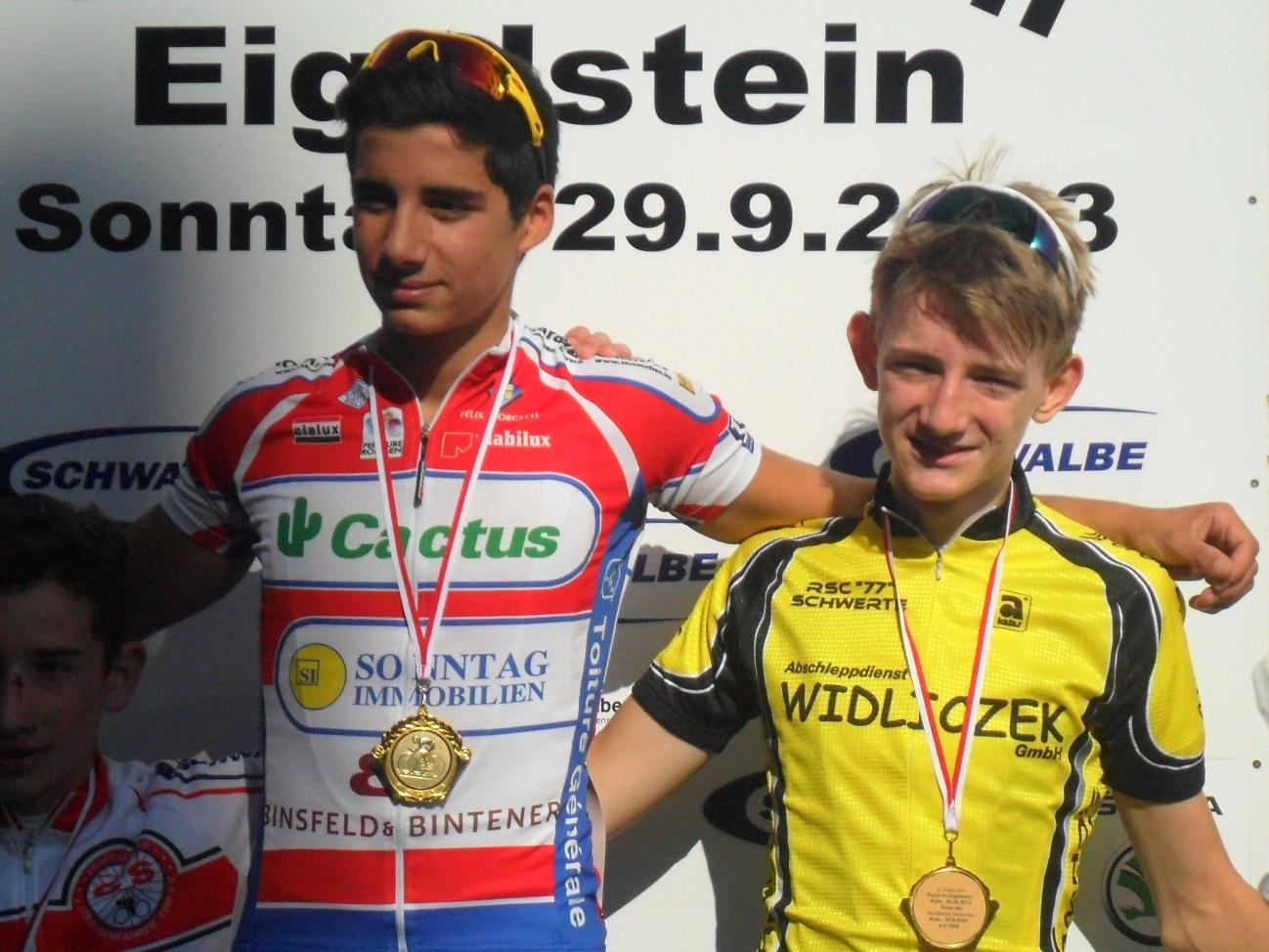 2.Platz für Simon Schmitt